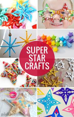 Make a Star Garland and Other Starry Ideas