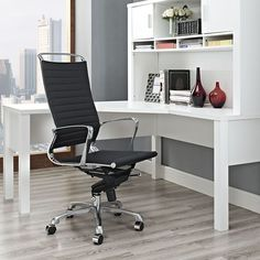 lexmod ribbed mid office. tempo highback office chair lexmod ribbed mid e