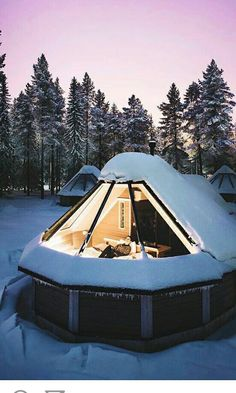 De Aurora-cabines in het Noorderlichtendorp, Finland Oh The Places You'll Go, Places To Travel, Places To Visit, Travel Destinations, Dream Vacations, Glamping, Tiny House, Architecture Design, Around The Worlds