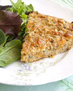 Savory Zucchini Pie from Farm Fresh Southern Cooking