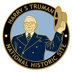 Harry S Truman NHS Hiking Stick Medallion