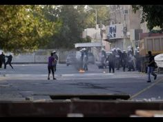 The unrest in Bahrain continues    Riot police and Bahraini anti-government protesters face off Sunday, Jan. 1, 2012, in the Shiite Muslim village of Sitra, Bahrain. Riot police in Bahrain fired tear gas, rubber bullets and stun grenades as they clashed with hundreds of opposition supporters, some hurling Molotov cocktails, following the politically charged funeral of a 15-year-old boy. (AP Photo/Hasan Jamali) AP [click photo for a short documentary on the Bahraini uprising]