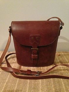 Madewell 1937 Brown Leather Satchel