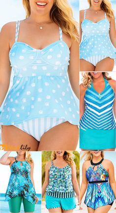 plus size, printed, casual, summer outfit, swimwear Wearing favorite swimwear to enjoy your holiday. Beach and sunshine are waiting for you. Camo Swimwear, Animal Print Tankini, Holiday Beach, Bikini Outfits, Stylish Girl Images, Plus Size Summer, Plus Size Swimsuits, Swim Dress, Casual Summer