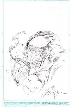 Original Angel Medina Venom Head Sketch-http://cgi.ebay.com/ws/eBayISAPI.dll?ViewItem=260996223656#ht_500wt_1413