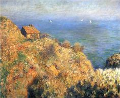 Fisherman's House at Varengeville - Claude Monet