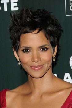 Rihanna Pixie Haircut | ... haircut with a messy hairstyle. She carries this haircut with the