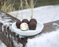Süße, kleine Schoko-Creme-Bonbons zum Vernaschen.