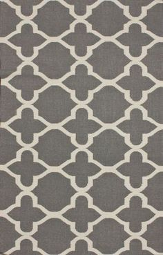 Tuscan Trellis Grey Rug | Contemporary Rugs