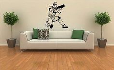 Star Wars Storm Trooper Wall Art Sticker Decal 704