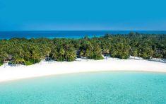 Reethi Rah Aerial Shot of Island