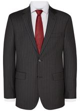 """Regular Fit Charcoal Stripe Suit  from """"Austin Reed"""", Purchase on discounted price using coupon codes and promotional codes."""