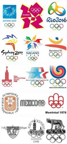 ESOS LOCOS BAJITOS DE INFANTIL: LOGOS DE LAS OLIMPIADAS Olympic Logo, Olympic Sports, Olympic Games, Summer Olympics Sports, Kids Olympics, Winter Olympics, Gymnastics Logo, Olympic Crafts, Summer Logo