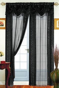 Tango Single Curtain Panel