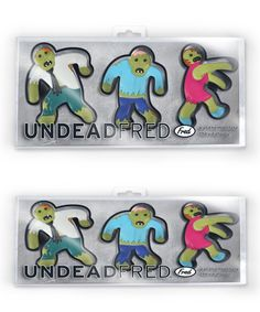 like ninjabread men, but zombies instead! Look at this Undead Fred Cookie Cutter - Set of Six on today! Zombie Princess, Zombie Dolls, Cookie Cutter Set, Kitchen Witch, Gadgets, Invitations, Crafty, Cookies, Gifts