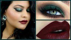 Gorgeous Green Smokey eye