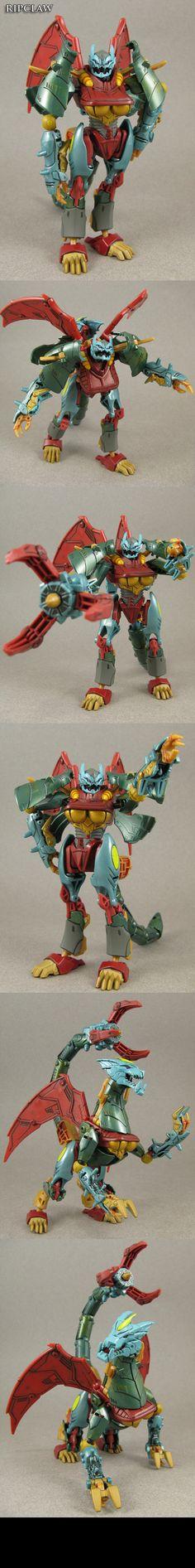 Transformers Beast Hunters custom Ripclaw by Jin-Saotome.deviantart.com on @deviantART