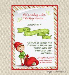 Elf Invitation