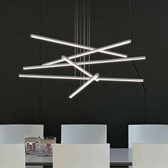 Stix 6-Arm LED Pendant Light