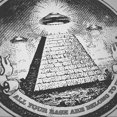 """""""That Day the saucers landed. Hundreds of them golden Silent coming down from the sky like great snowflakes..."""" Link in bio  #tshirt #dollar #ufo #alien #aliens #space #ovni #et #extraterrestrial #art #spaceship #sky #xfiles #area51 #flyingsaucer #ufos #conspiracy #illustration #piramide #fashion #shirt #tee #clothing #style #apparel #money #cash #illuminati #newworldorder #truth  Hail to our new overlords! """"All your base are belong to us"""" comes from the opening cutscene of the 1991 European…"""