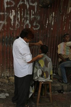 Street Barbers of Byculla