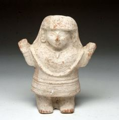 Pre-Columbian Mayan Rattle, Priestess Form