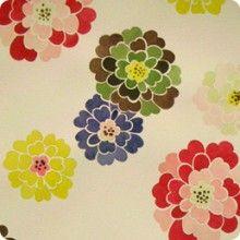 mums - papercuts, soak in water, shape petals