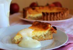 Sahne Apfelkuchen (tarta De Manzana Y Crema)