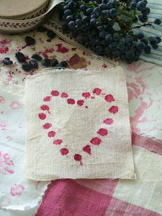 Berries Heart by sweet berry me, via Flickr