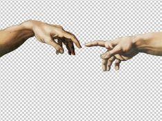 """aesthetic wave"" Sticker by Wallpaper Computer, The Creation Of Adam, Graphisches Design, Denim Art, Hand Images, Overlays Picsart, Aesthetic Stickers, Photomontage, Art Sketchbook"
