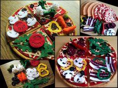 felt pizza set