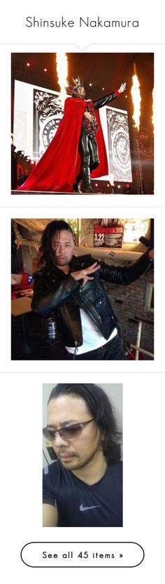 """Shinsuke Nakamura"" by theonewithstarsinhereyes ❤ liked on Polyvore featuring wwe and superstars"