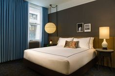Guest room at Kimpton's newest hotel - The Gray in Chicago