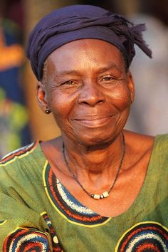 Adjo Negussie - 81. Originally from Togo. Works at the orphanage cooking and taking care of infants. 12 years