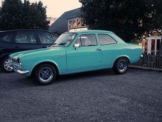 Stunning Ford Escort Mk1. Because Pinterest loves 'duck egg' blue.