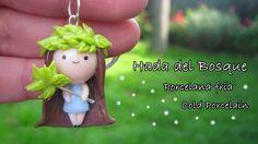 Hada del Bosque en Porcelana Fria / Cold Porcelain