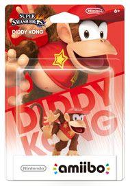 Boxshot: Diddy Kong amiibo Figure by Nintendo