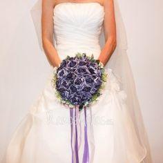 ramo-novia-violeta Wedding Bouquets, Boyfriends