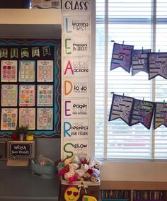 Loving this leaders poster set from Great reminder to my grade students who are the oldest students at our school; we are leaders both in our class, and on the yard! 4th Grade Classroom, Middle School Classroom, Classroom Rules, Classroom Setup, Classroom Design, Classroom Displays, Future Classroom, School Fun, School Stuff