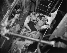 Weegee, Children on Fire Escape, 1938