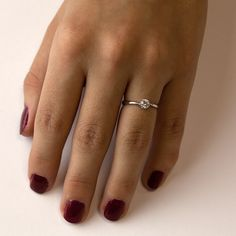 Helios White - nádherný klasický zásnubní prsten | BRILAS