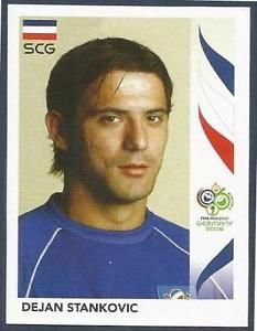 Image result for germany 2006 panini Srbija kezman