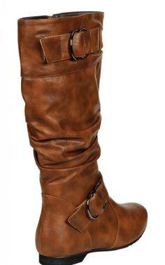 mid calf boots. so cute