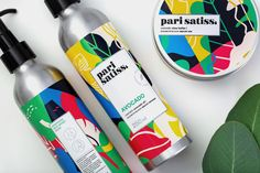 """ Fabula Branding has developed a logo and a package design for natural and  exclusive cosmetics line by exclusive Pari Satiss from BeOrganic.by."""