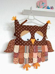 Ещё одна новинка :) Сова - пижамница:      Пижамниц у меня ещё не было. А ведь это - море идей и возможностей! :) Буду шить!        Пижамниц...