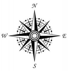compass...middle part of future dream catcher tattoo