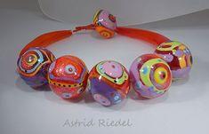 Astrid Riedel Glass Artist: Wearable Art!