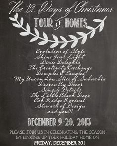 12 Days of Christmas Tour of Homes {Day 3}