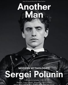 9,250 vind-ik-leuks, 84 reacties - Sergei Polunin (@sergeipolunin) op Instagram: 'Thanks to @another_man for the cover. Photography: @collierschorrstudio.'