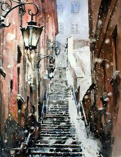 Paul Dmoch - 'Escalier en Pierre'